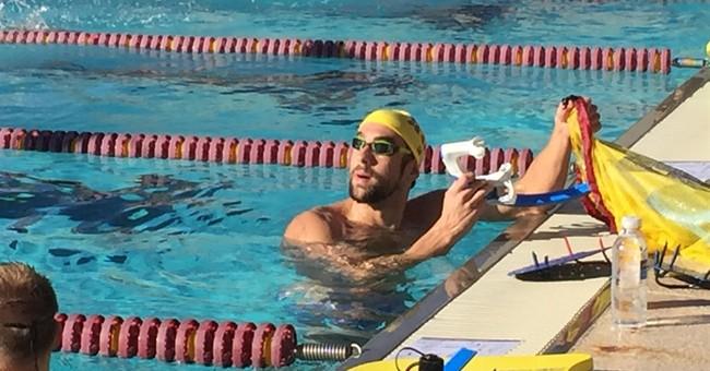 Michael Phelps discovers true happiness in Arizona desert