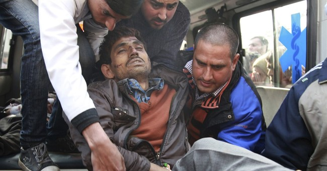 Bus falls into gorge in Indian-held Kashmir, killing 11