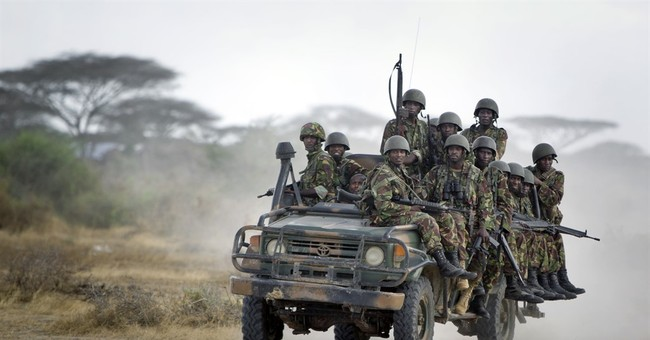 Kenya's president says troops killed by Somali extremists