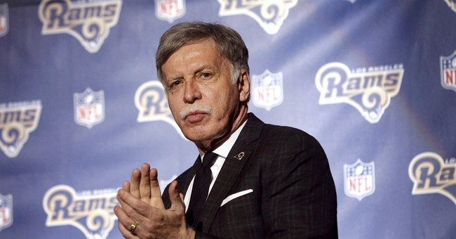"Kroenke heralds Rams' return after ""long road"" back to LA"