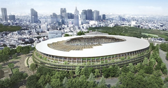 Tokyo 2020 stadium architect says his design not plagiarized