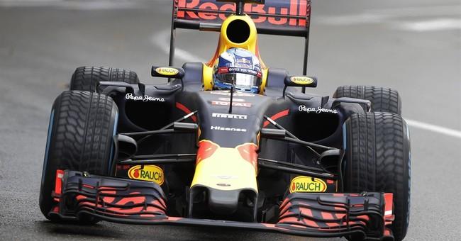 Jubilant Hamilton celebrates after rain-soaked Monaco GP win