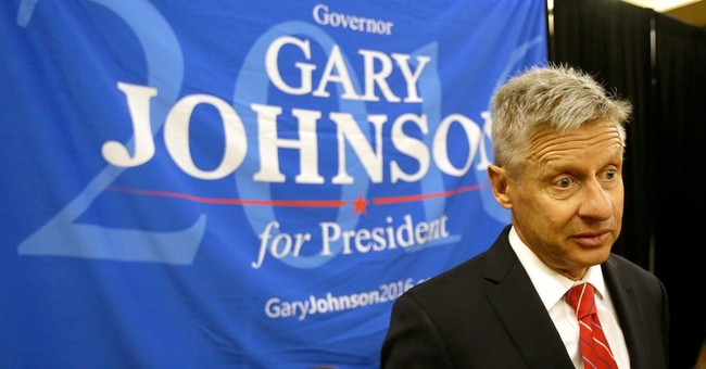 Libertarians pick ex-New Mexico Gov. Johnson for president