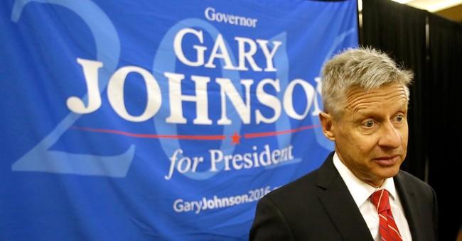 Libertarians pick ex-New Mexico Gov. Johnson for president