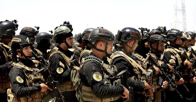 Iraqi forces complete buildup around IS-held Fallujah