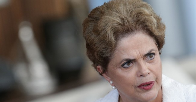 Brazil's Rousseff says impeachment aimed at corruption probe