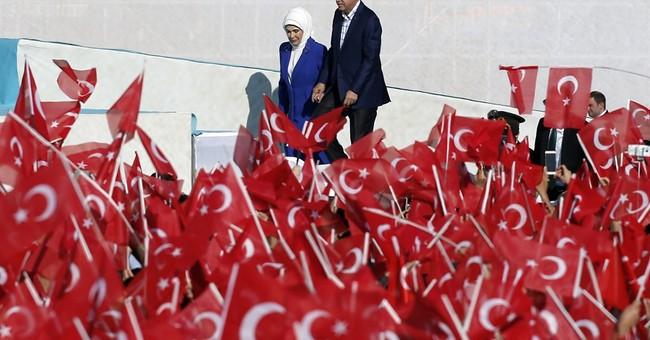 Turkey president raps US, Russia, Iran for presence in Syria