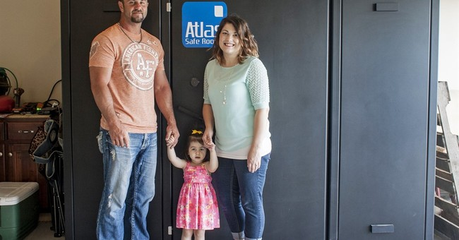Storm safe rooms as a wedding gift? Sure, in Tornado Alley