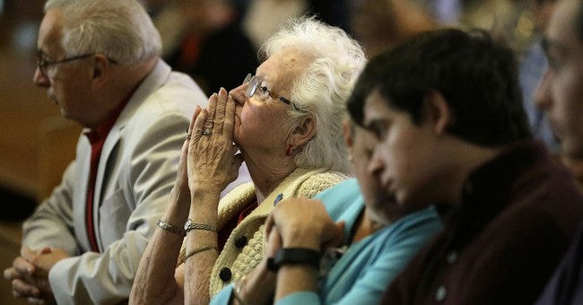 Parishioners hold last service at church after 11-year vigil