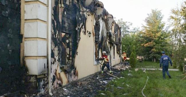 Fire at Ukrainian home for the elderly kills 17, injures 5