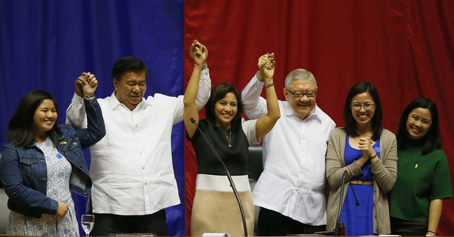 Philippine Congress proclaims next president, vice president