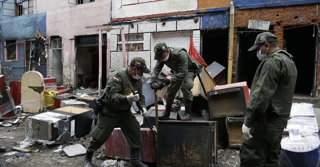 Police raid drug-infested 'Bronx' in Colombia's capital