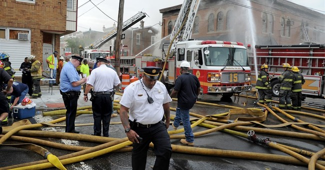 Fire erupts during Memorial Day banquet at American Legion
