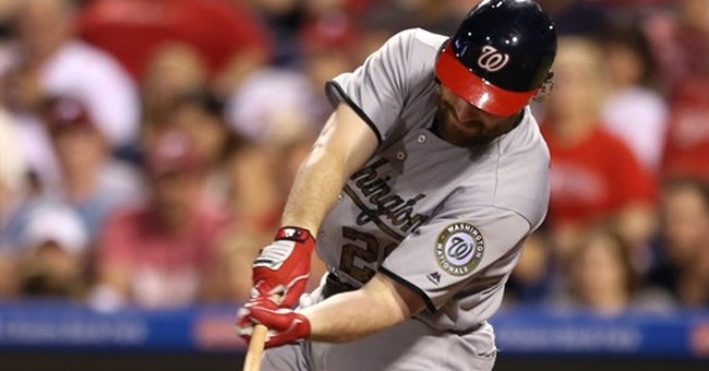 Daniel Murphy drives in 3, Nationals rally past Phillies 4-3