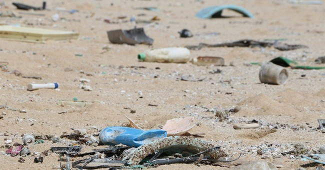 Aerial surveys document ocean debris around Hawaii