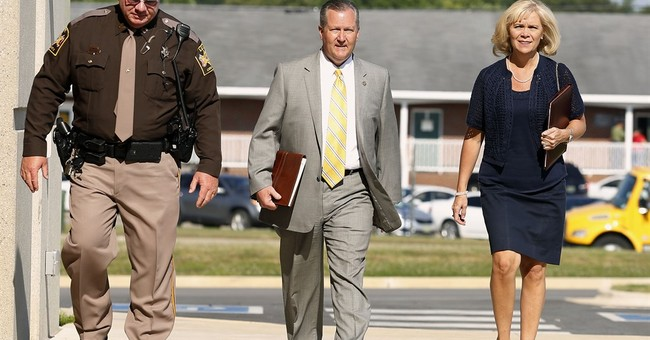 The Latest: Witness: Hubbard was often told of ethics limits