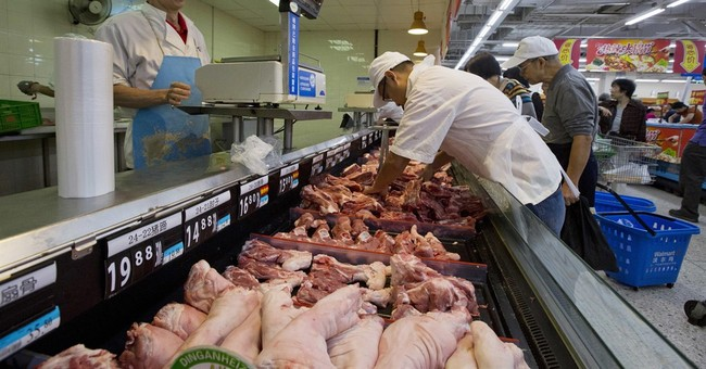 AP PHOTOS: Shopping at a Chinese Wal-Mart
