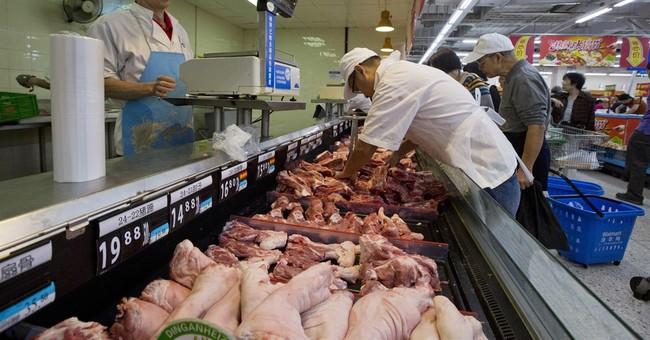 AP PHOTOS: Shopping at a Chinese Wal-Mart