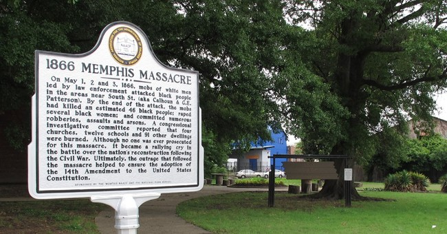 150 years after Memphis massacre, marker shows struggle