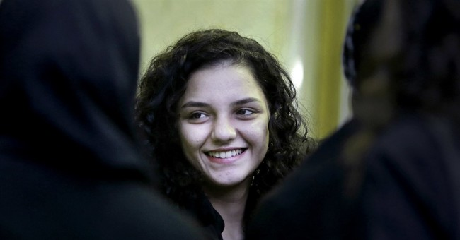 From a young activist, a show of anger at Egypt's courts