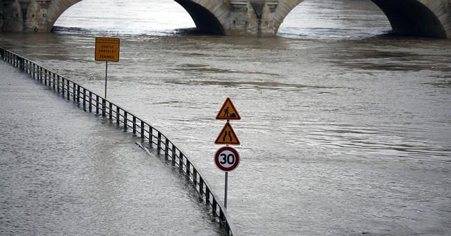 Rain pummels France; Seine overflows its banks in Paris