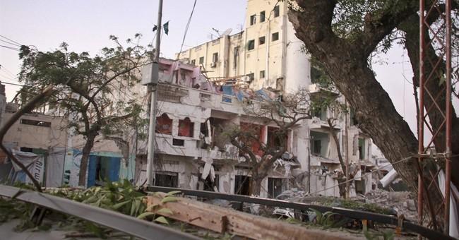 Hotel attack in Somali capital kills at least 2, police say