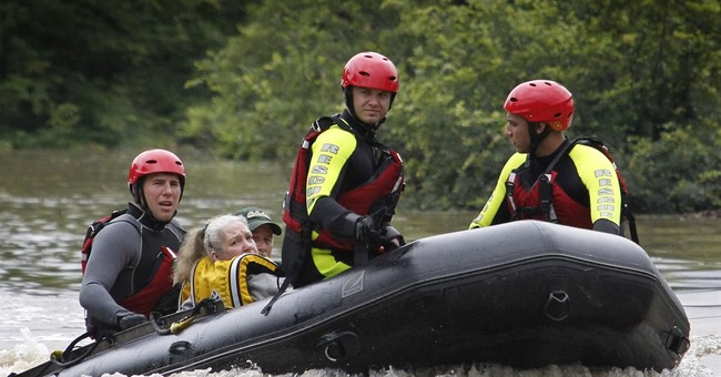 5 dead, 4 missing after Army truck swept away in Texas flood