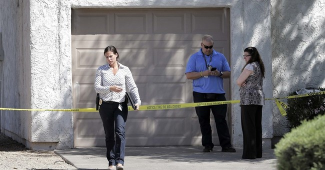 The Latest: Suspect's sister: Her life revolved around sons