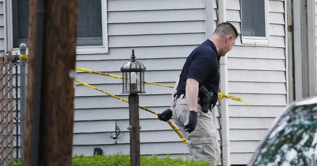 Pair, son are shot dead in burning home; no suspects sought