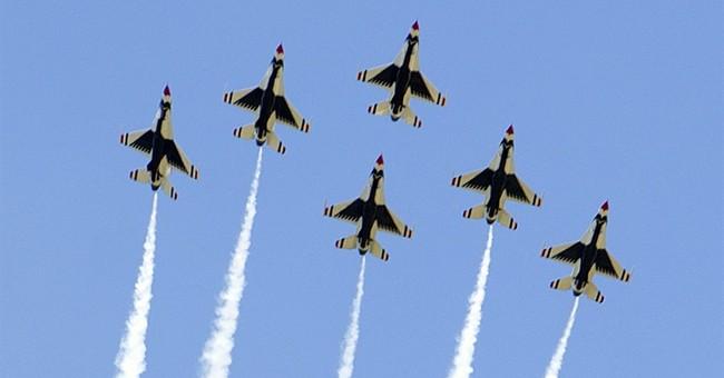 The Latest: Obama meets pilot of Thunderbird that crashed
