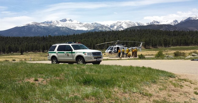 The Latest: Soldiers flown off high Colorado mountain peak