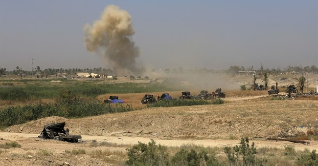 Attack on Iraqi civilians fleeing IS in Fallujah kills 2