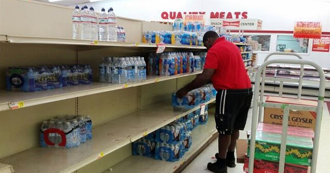 Bottled water selling quickly after Alabama water warning