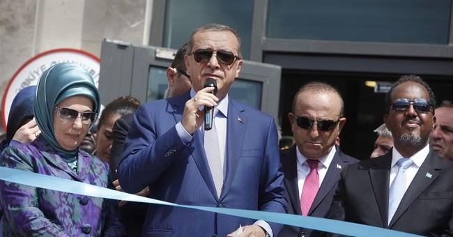 Turkish president opens new embassy in war-torn Somalia