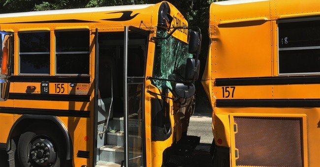21 students hurt in 2-school bus crash in Washington state