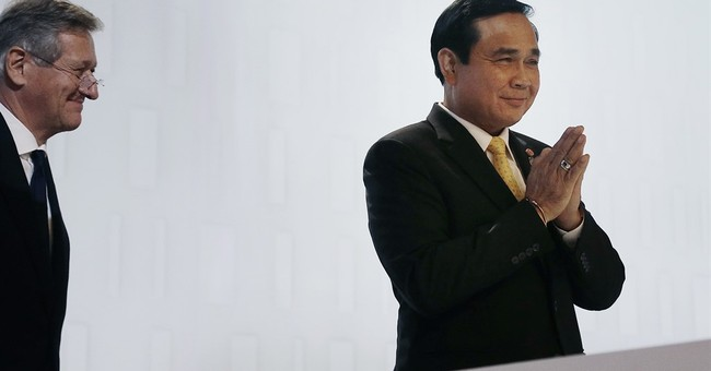 Thai junta leader defends crackdown on social media