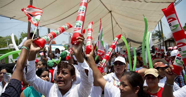 Mexico's dominant PRI a contender even in struggling states