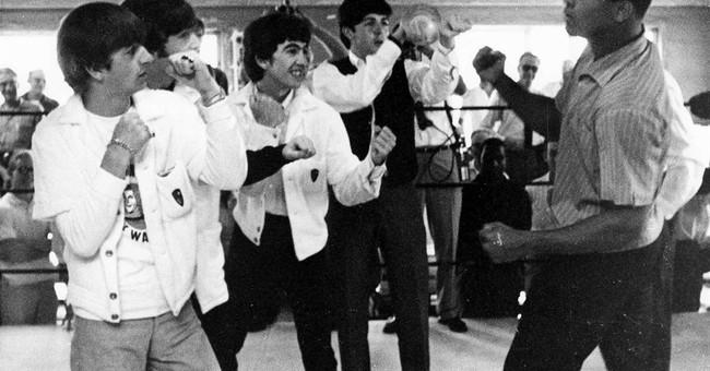 The day Muhammad Ali met the Beatles