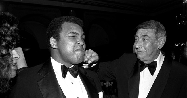 Muhammad Ali was the subject of many films and star of a few