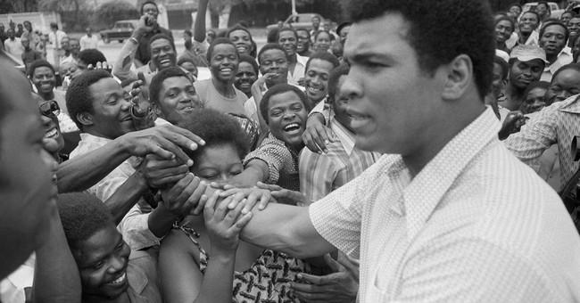 The Facilitator mourns the loss of his friend, Muhammad Ali