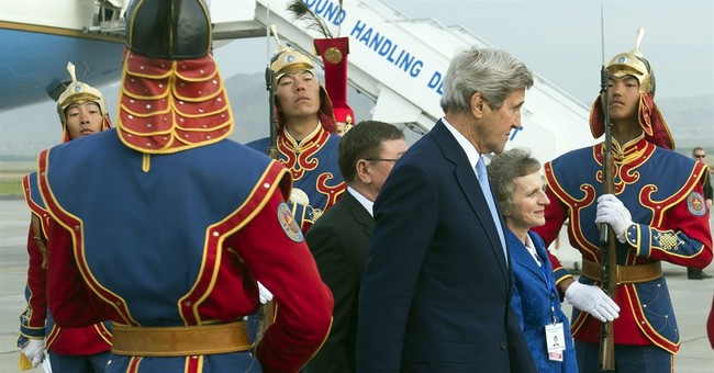 In Mongolia, Kerry seeks closer ties with democracy 'oasis'