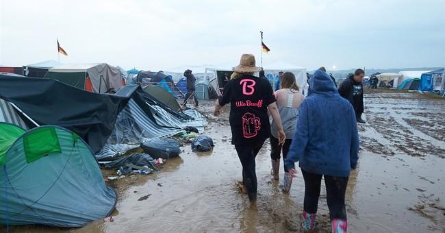 German rock festival suspended after 72 injured in storm