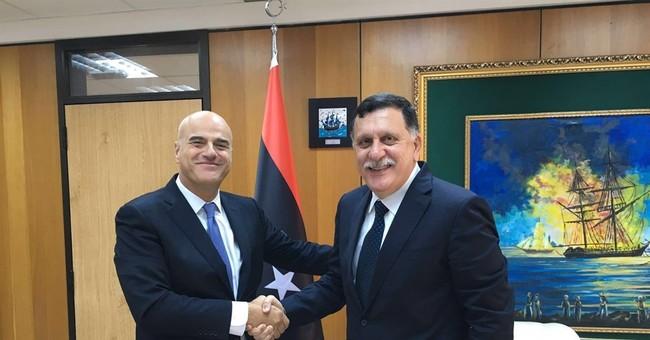 Italian oil company Eni's CEO meets with Libyan premier