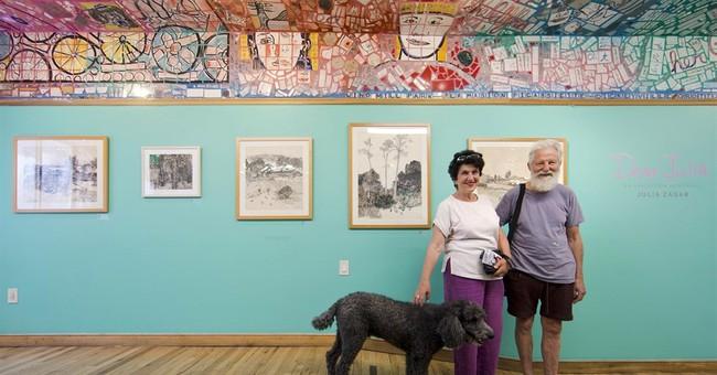 Philadelphia mosaic master honors wife's art, love in show