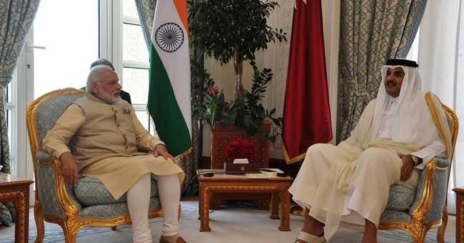 Indian PM visits Qatar to talk gas supply, workers' rights