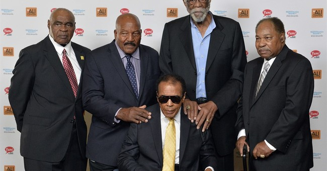 Brotherly bond: Ali and Jim Brown shared passion, purpose