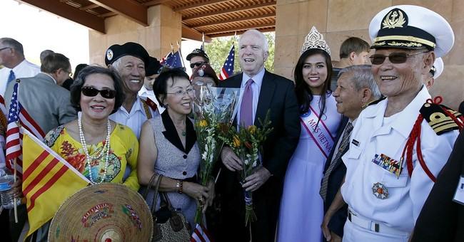 McCain seeks sixth term in uncertain terrain