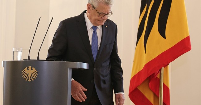 German President Joachim Gauck won't seek a 2nd term