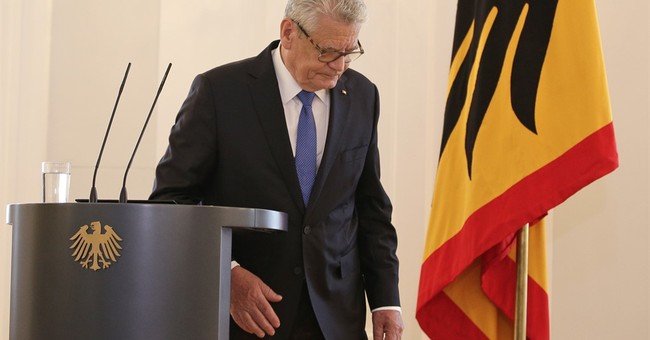 German President Joachim Gauck won't seek a 2nd term