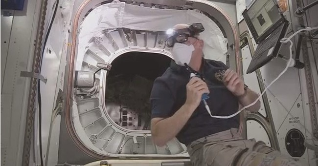 Astronauts enter world's first inflatable space habitat